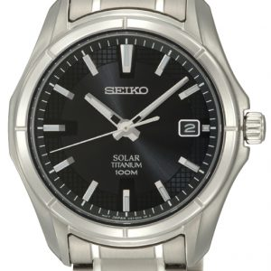 Seiko - Gents Solar Bracelet Watch-0