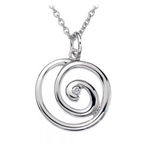 Hot Diamonds Pendant and Chain-0
