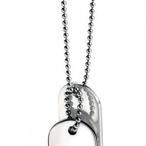 Fred Bennett - S/steel Pendant and Chain-0
