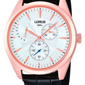 Lorus - Gents Multi Dial Strap Watch-0
