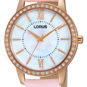 Lorus - Lady's Just Sparkle Strap Watch-0