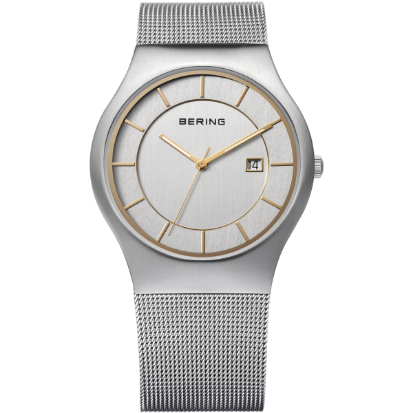 Bering - Gents classic watch on bracelet-0