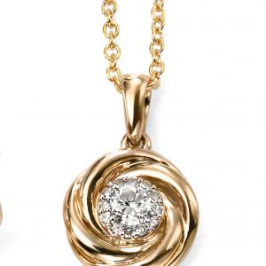 Diamond Pendant & Chain-0