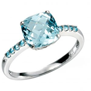 Blue Topaz Ring-0